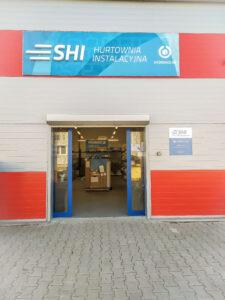 SHI Wrocław wejście