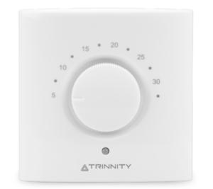 Bezprzewodowy, dobowy regulator temperatury sieci TRINNITY TRHTR‐RF(20)