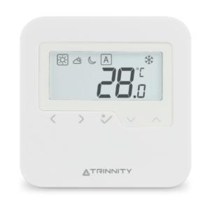 Bezprzewodowy, dobowy regulator temperatury sieci TRINNITY TRHTRS-RF(30)