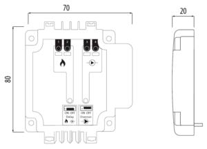 TRINNITY TRPL07 - Moduł sterowania kotłem i pompą