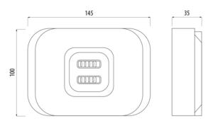 TRINNITY TRRX10RF - Moduł sterujący sieci ZigBee - rysunek