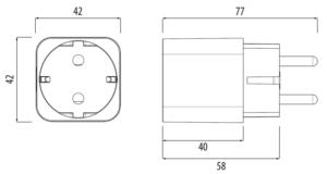 TRINNITY TRSPE600 - Inteligentna wtyczka (Smart Plug) sieci
