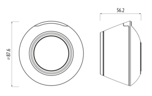 Bramka internetowa sieci TRINNITY TRUGE600 - rysunek