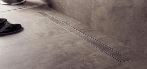 Trinnity odpływ liniowy prosty 03 - przykładowy montaż