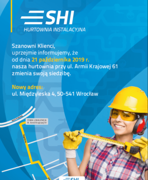 SHI Wrocław Armii Krajowej na Międzylewską 4 od 21.10.2019